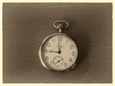 7 Nov 2013: Pocket watch